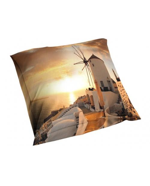 Poszewka 3D 40x40cm satyna bawełniana MŁYN