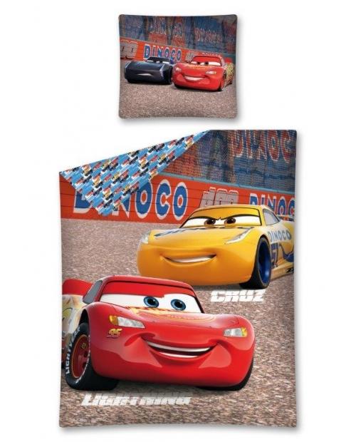 Pościel licencyjna 160x200cm CARS